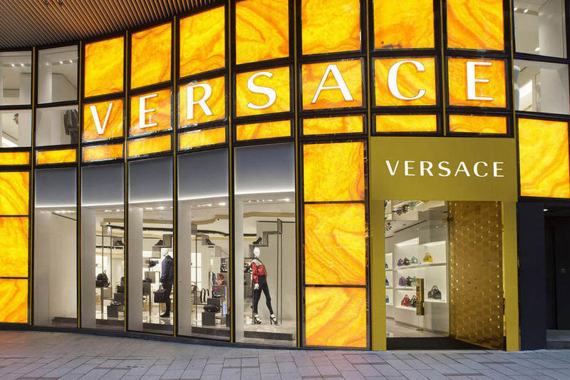Versace Store Front