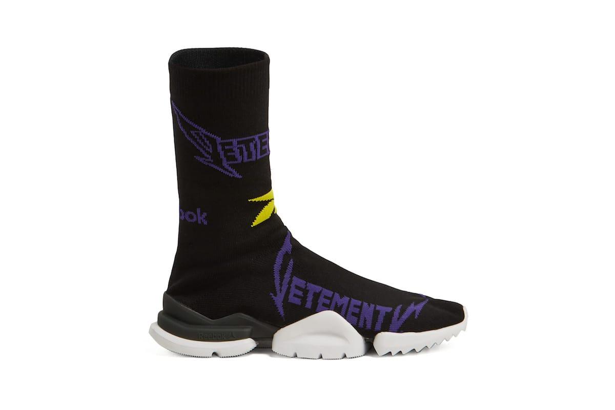 Vetements x Reebok New Sock Sneaker in