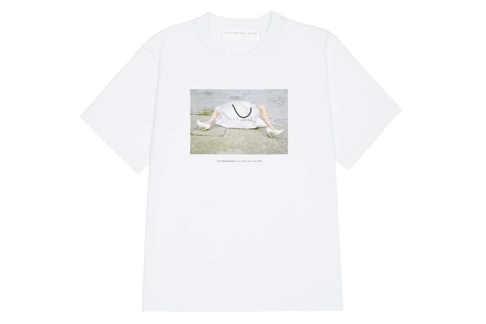 Victoria Beckham 10 Anniversary T-Shirt Campaign Marc Jacobs Dover Street Market Juergen Teller