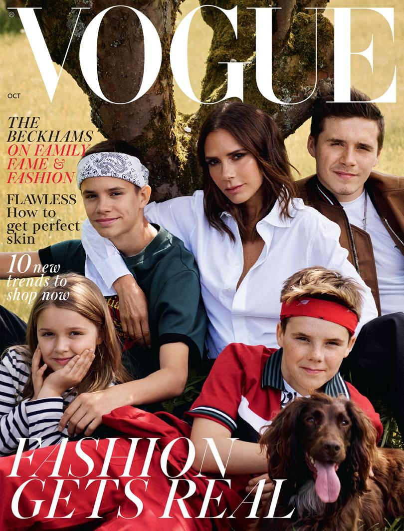 Victoria Beckham British Vogue Cover Magazine Video Short Film Spice Girls Posh
