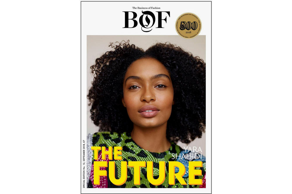 Yara Shahidi Business of Fashion BOF500 Cover