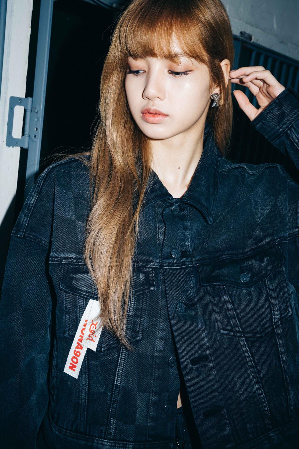 Blackpink Lisa Fronts Nonagon X X Girl Campaign Hypebae