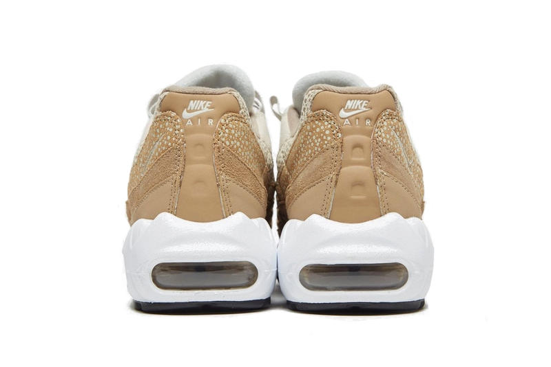 Nike Air Max 95 Brown/White Gradient Sneaker Shoe Trainer Runner Footwear Retro Dad Shoe