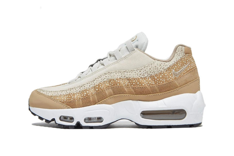 designer fashion c37cf 43c0b Nike Air Max 95 Brown White Gradient Sneaker Shoe Trainer Runner Footwear  Retro Dad Shoe