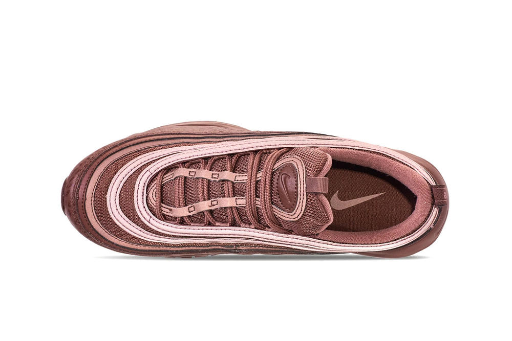 "Nike Air Max 97 ""Mahogany Mink"" Burgundy Shoe Fall Winter Color"