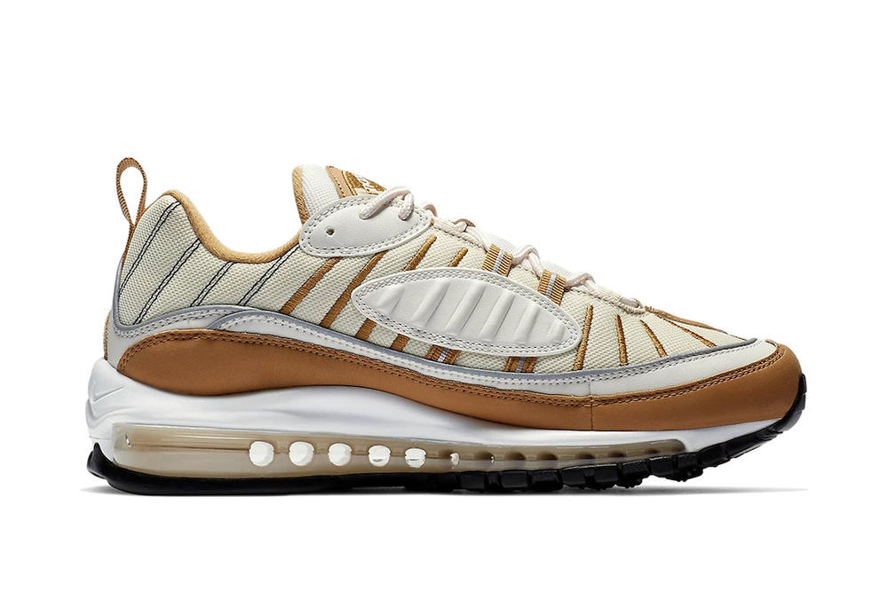 Nike Air Max 98 Phantom Women's Exclusive Sneaker White Brown