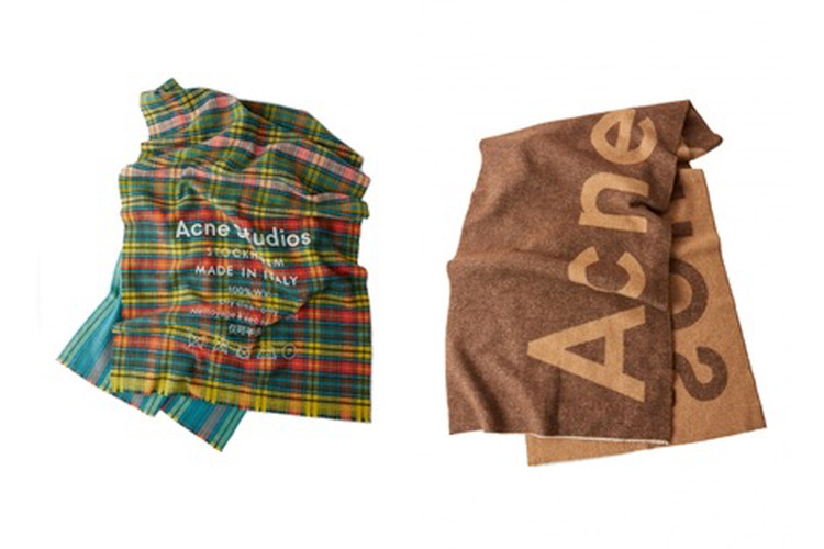 b6f50e232ba0 Acne Studios  New Scarves Are Cozy for Fall