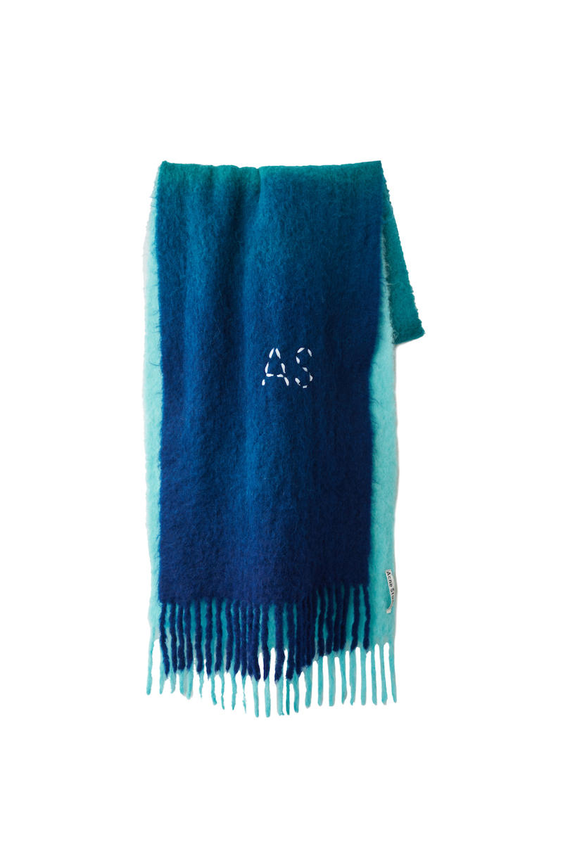 Acne Studios Fall/Winter 2018 Scarf Collection Wool Cashmere Blend Print FW18