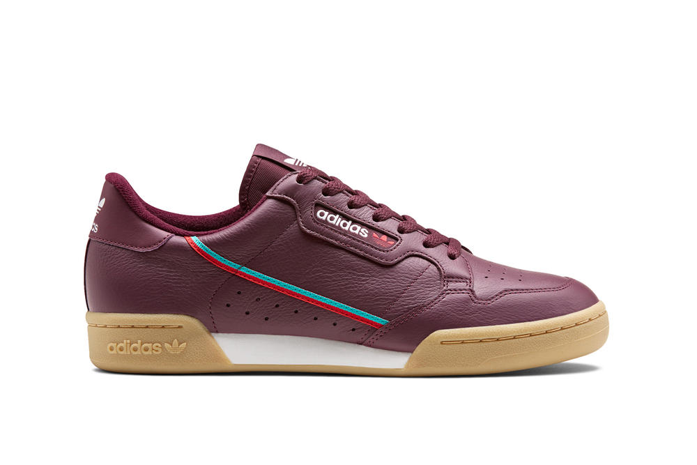 adidas Originals Continental 80 Maroon