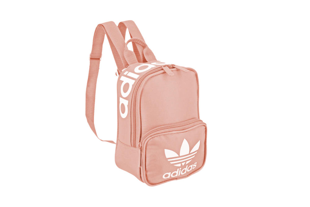 adidas Originals  Santiago Mini-Backpacks Red Black Pink Small Bag Sporty  Trefoil Logo Print fd16ef7435ff1