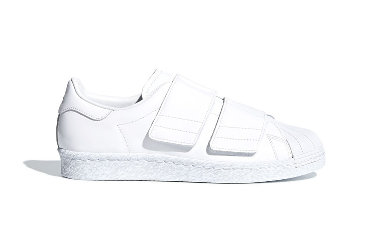 70afb1bb2 adidas Originals Adds Shiny Velcro Straps to the Superstar 80s