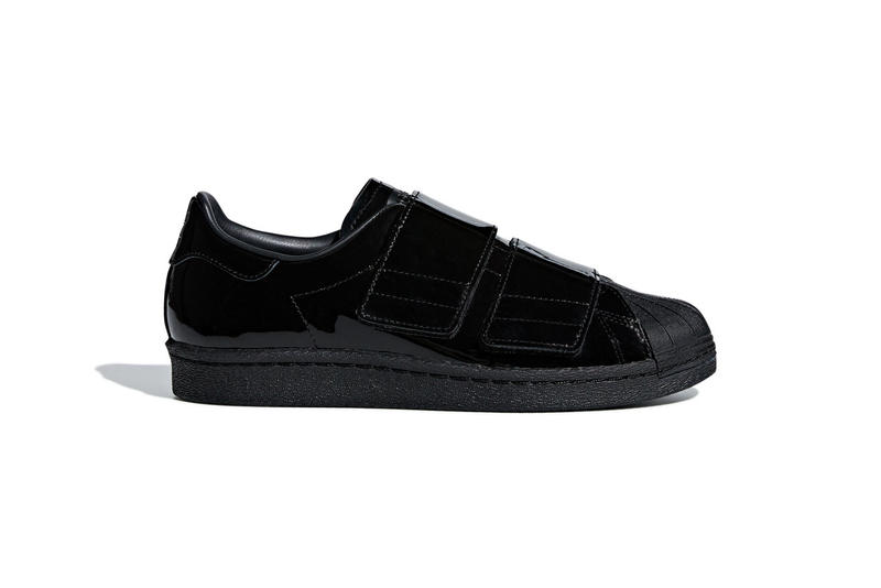 adidas Originals Superstar 80s Velcro Black White