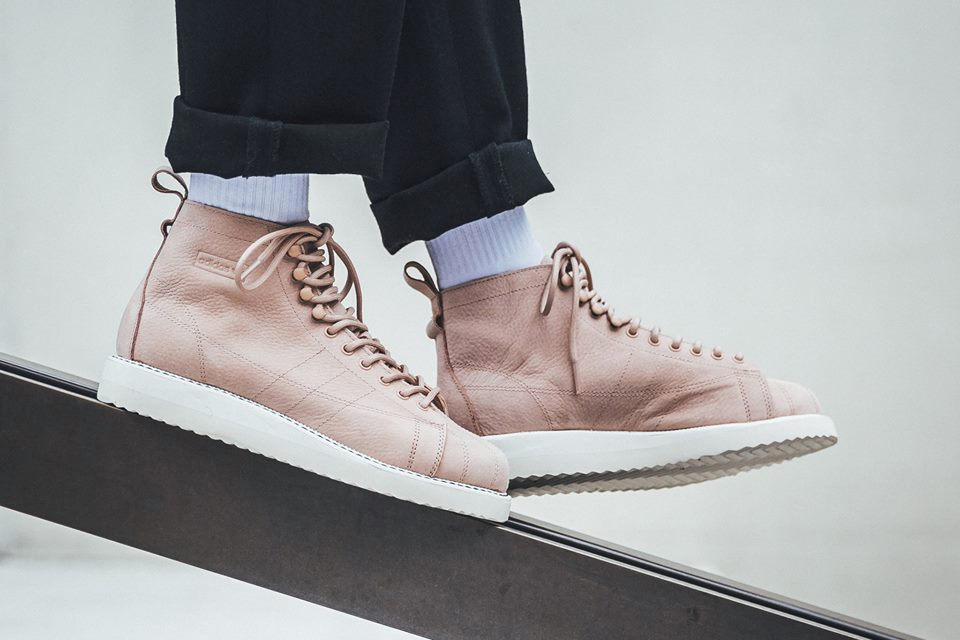 Adidas Originals Superstar Boot In Ash Pearl Hypebae