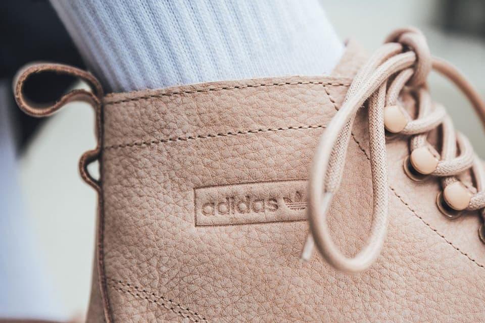 Adidas Originals Superstar Boot In Ash Pearl Hypebae