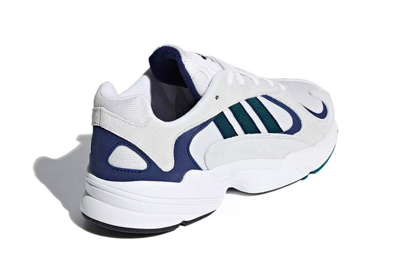 adidas Originals Yung-1 Cloud White Noble Green Blue Sneaker Release Date