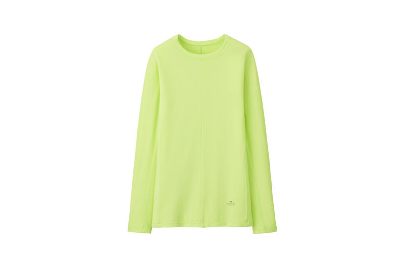 Alexander Wang x Uniqlo Heattech Collection Long Sleeve Shirt Green