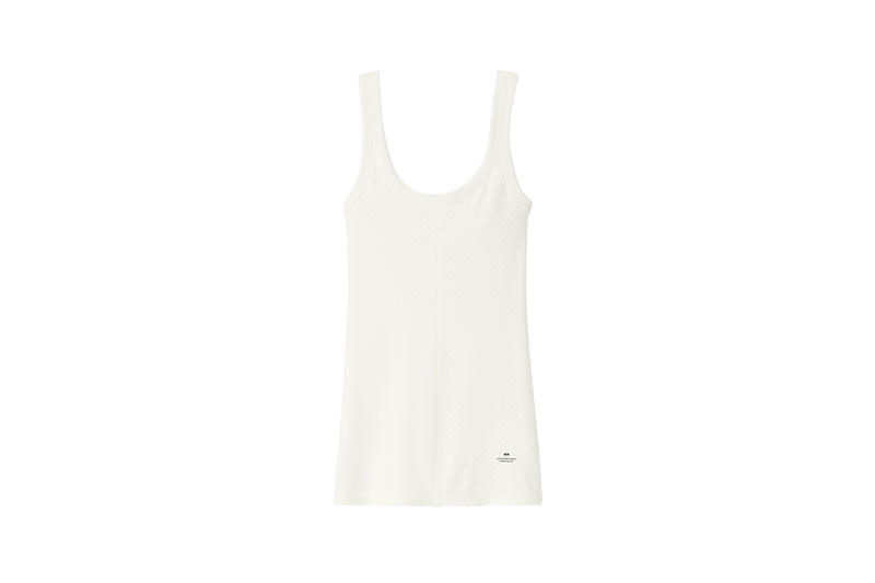 Alexander Wang x Uniqlo Heattech Collection Tank Top Cream