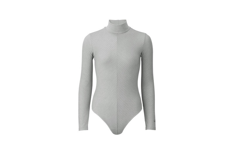 Alexander Wang x Uniqlo Heattech Collection Long Sleeve Turtleneck Bodysuit Grey