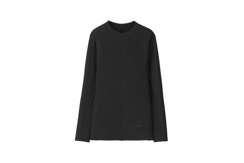 Alexander Wang x Uniqlo Heattech Collection Long Sleeve Shirt Black