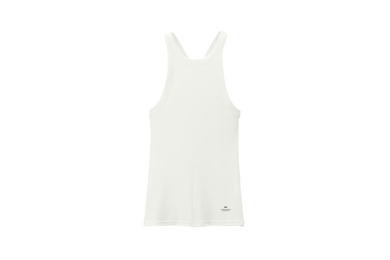 Alexander Wang x Uniqlo Heattech Collection Short Sleeve Top Cream