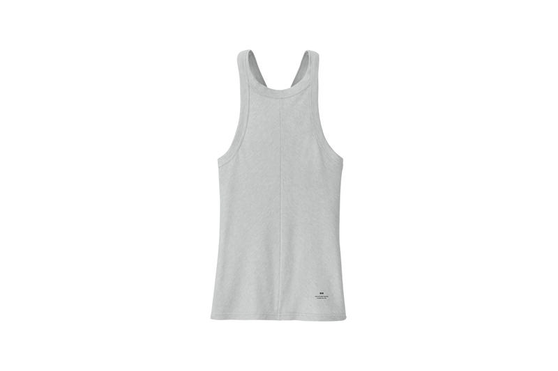 Alexander Wang x Uniqlo Heattech Collection Short Sleeve Top Grey