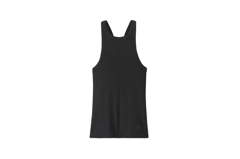 Alexander Wang x Uniqlo Heattech Collection Short Sleeve Top Black