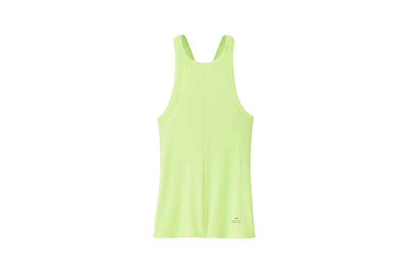 Alexander Wang x Uniqlo Heattech Collection Short Sleeve Top Green