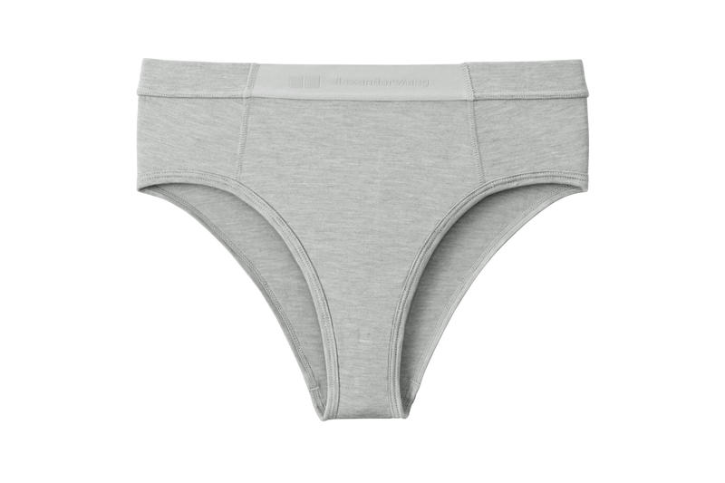 Alexander Wang x Uniqlo Heattech Collection Underwear Grey