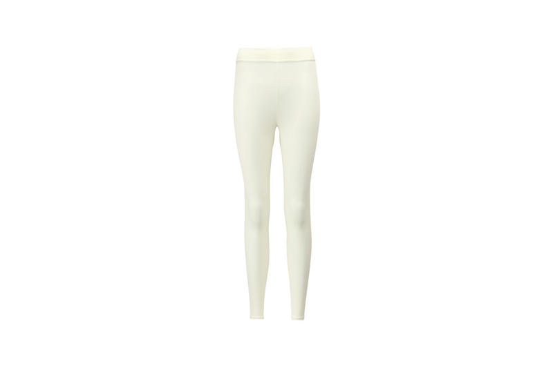 Alexander Wang x Uniqlo Heattech Collection Leggings Cream