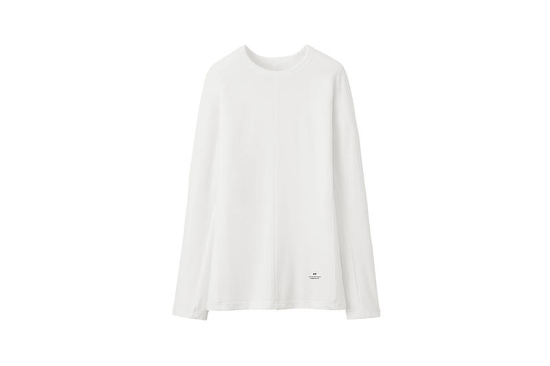 Alexander Wang x Uniqlo Heattech Collection Long Sleeve Shirt White