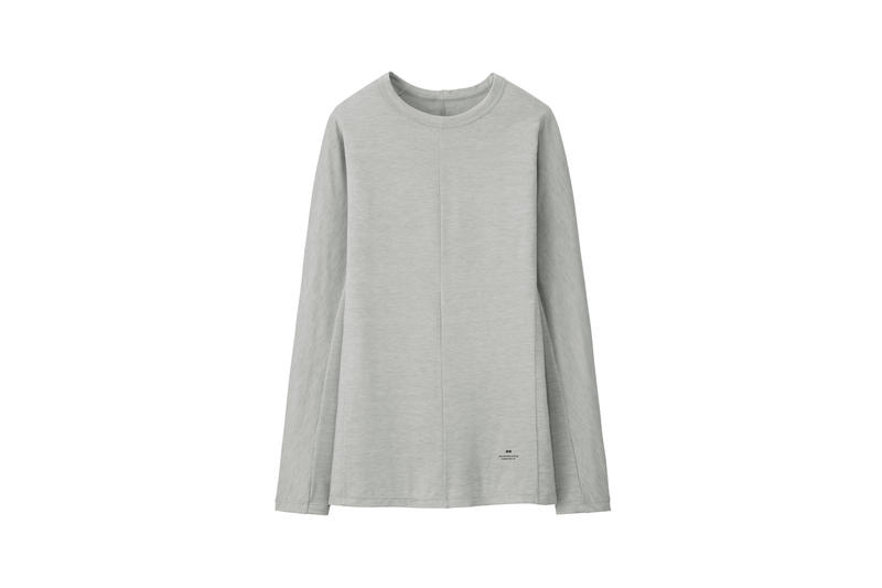 Alexander Wang x Uniqlo Heattech Collection Long Sleeve Shirt Grey