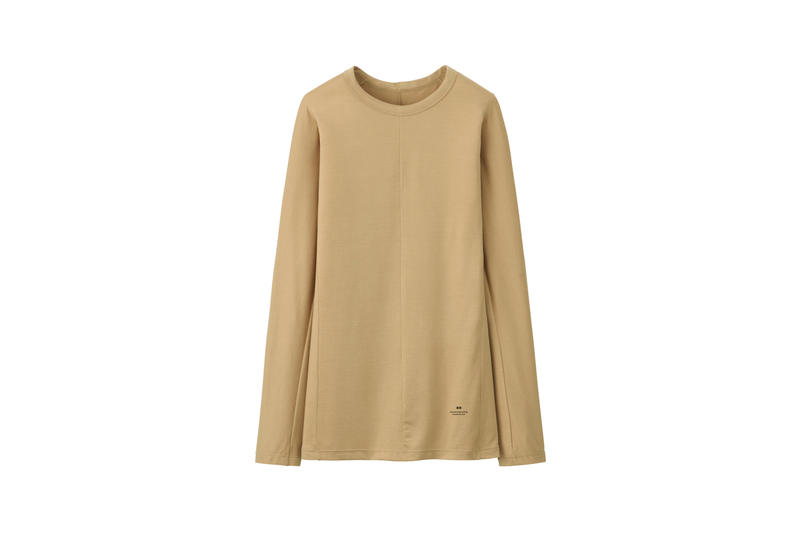 Alexander Wang x Uniqlo Heattech Collection Long Sleeve Shirt Brown