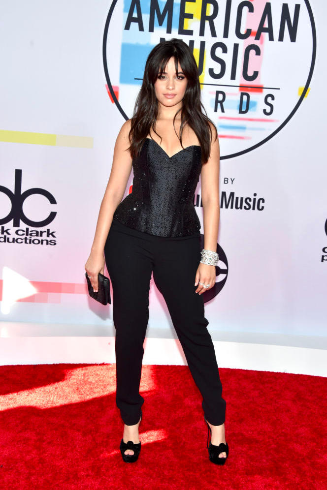 Camila Cabello American Music Awards AMAs 2018 Red Carpet