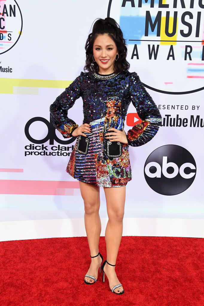 Constance Wu American Music Awards AMAs 2018 Red Carpet