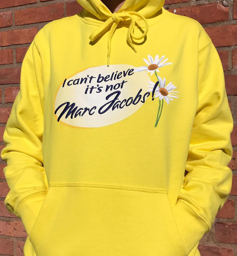 70ae85715487a Ava Nirui Marc Jacobs Hoodie Collaboration November 1 2018 Yellow Bootleg  Avanope I can t