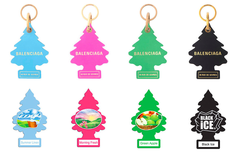 Balenciaga Tree Keyring Lawsuit Air Freshner Copyright Copy Plagiarising
