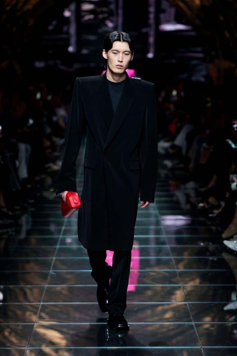 Balenciaga Spring Summer 2019 Show Collection Paris Fashion Week Jacket Black
