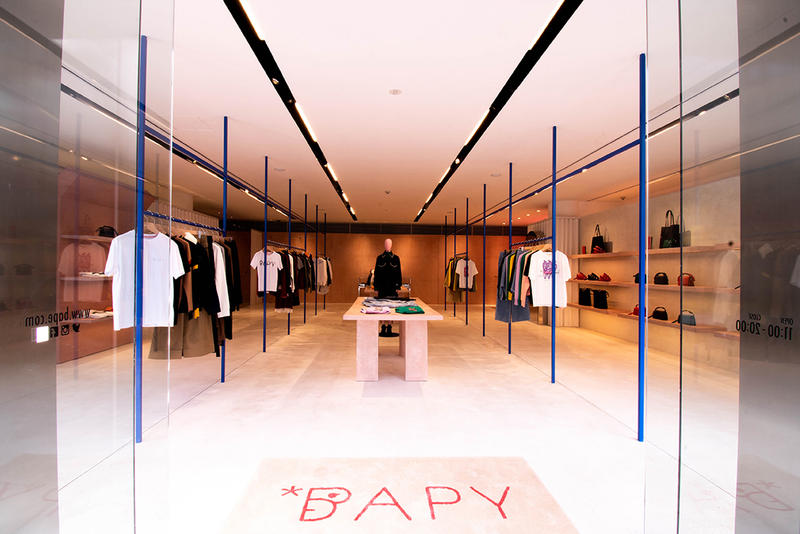BAPY Harajuku Japan Store T-shirts White Blue