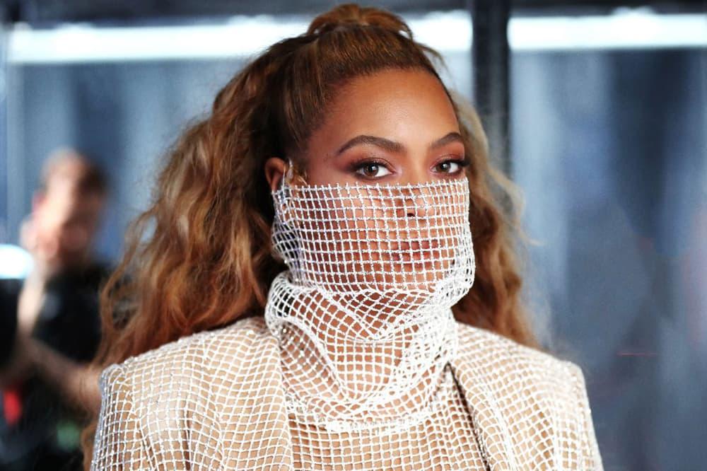 Beyonce On The Run II Tour Mesh Mask