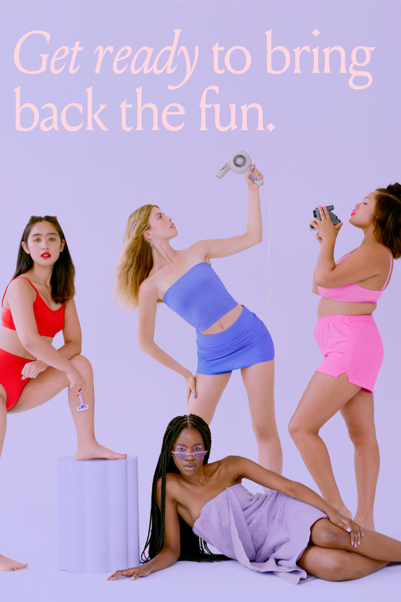 Billie Releases 90s-Inspired DreamPop Razor Body Hair Feminist Women Empowerment Pink Tax