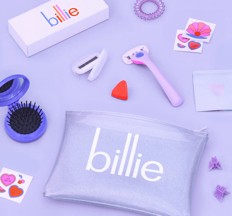 Billie Releases 90s-Inspired DreamPop Razor Body Hair Feminist Women Empowerment Pink Tax