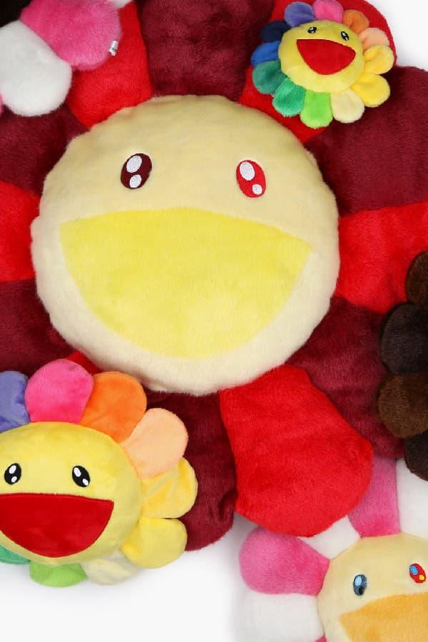 Takashi Murakami Billionaire Boys Club Drop Plus Toy Flower Design Fashion