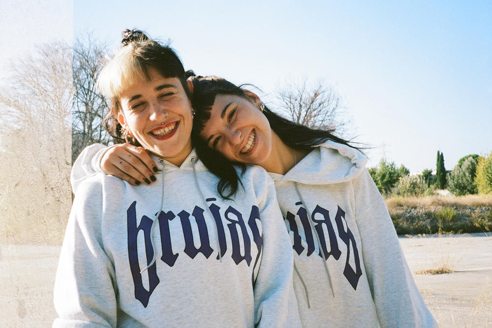 BRUJAS Fall Winter 2018 Collection La Pucelle Hoodie Grey