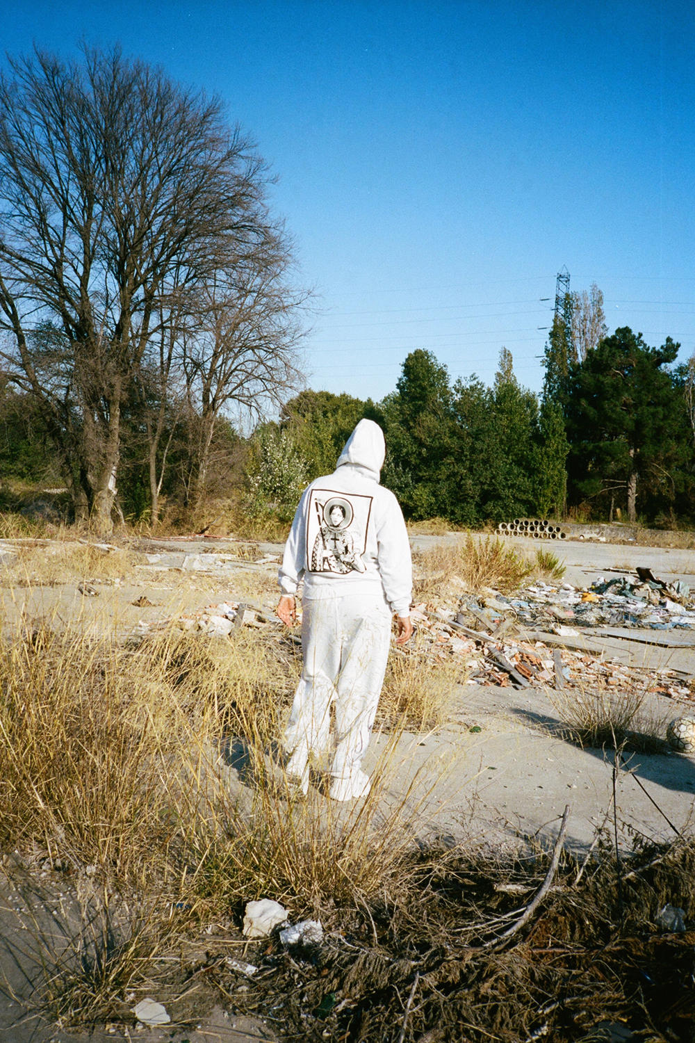 BRUJAS Fall Winter 2018 Collection La Pucelle Sweatsuit Grey