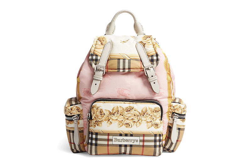 Where to Buy Burberry Vintage Scarf Print Backpack  a16b297708e2b