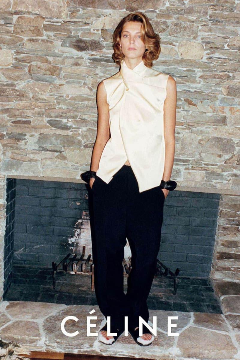 Celine Phoebe Philo Campaign 2013 Daria Werbowy