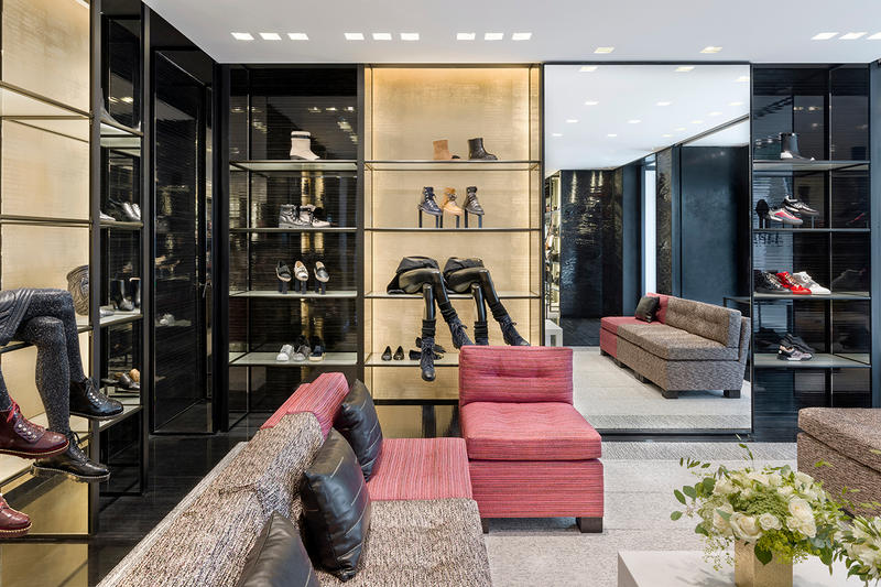 Chanel Boutique Walton Street Knightsbridge London Interior