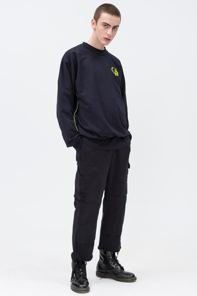Cheap Monday C/O Capsule Collection Lookbook Sweatshirt Work Chinos Black