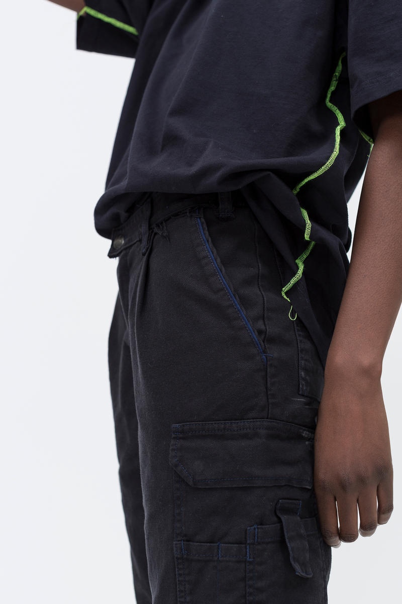 Cheap Monday C/O Capsule Collection Lookbook Work Chinos Black