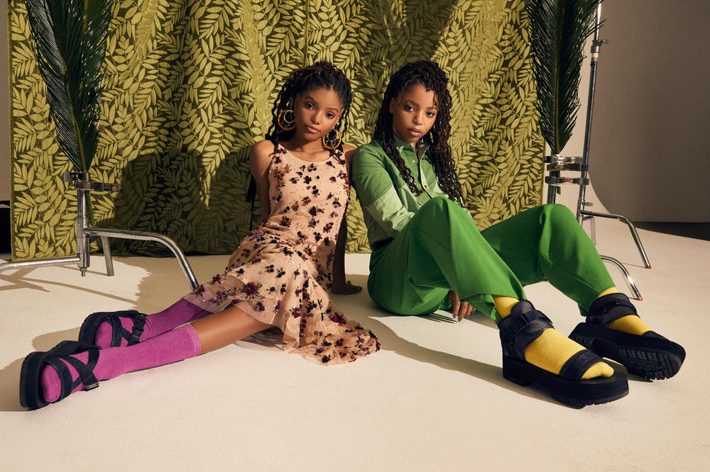 Chloe x Halle Teva Fall 2018 Indio Jewell Whip Black